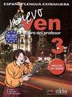 Nuevo Ven 3 - Libro del profesor  + CD