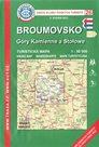 Broumovsko, Góry Kamienne a Stolowe - mapa KČT č.26 - 1:50t