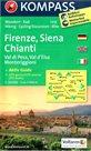 Firenze, Siena, Chianti - č.2458 - 1:50 000 /Itálie/