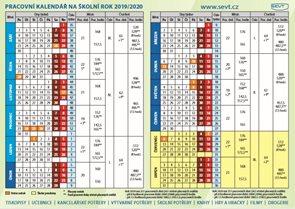 Plánovací kalendář - školní rok 2018/2019