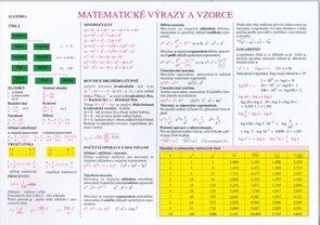 Matematické výrazy a vzorce - Výpočet geometrických obrazců