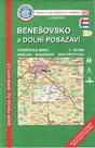Benešovsko a dolní Posázaví - mapa KČT č.40 - 1:50t