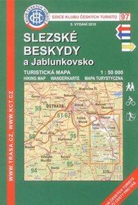 Slezské Beskydy - mapa KČT č.97 - 1:50t