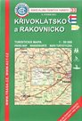 Křivoklátsko a Rakovnicko - turistická  - 1:50t