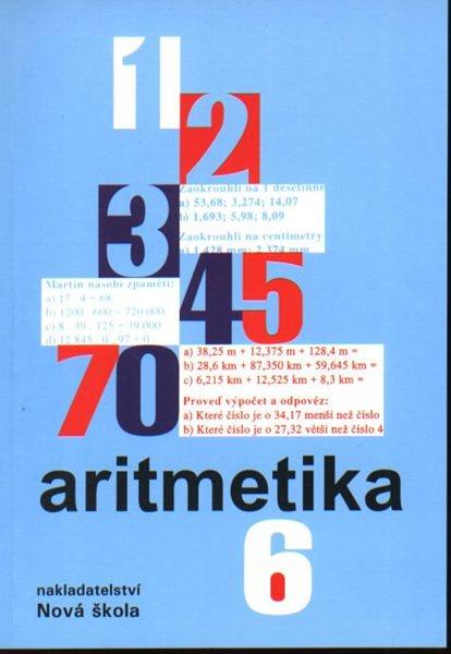 Aritmetika 6.r. - učebnice - Rosecká Zdena, Čuhajová Vladimíra - A5, brožovaná