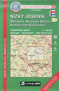 Nízký Jeseník - mapa KČT č.56 - 1:50 000