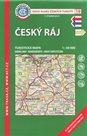 Český ráj - mapa KČT č.19 - 1:50t