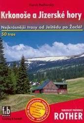 Krkonoše a Jizerské hory - turistický průvodce Rother - Podhorský Marek - 115x168mm