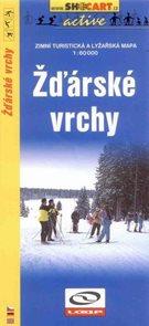 Žďárské vrchy - zimní turistická a lyžařská mapa - 1:60 000