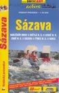 Sázava - vodácký průvodce SHOCart - 1:50 000