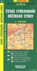 České středohoří, Děčínské stěny - mapa SHc3 - 1:50t