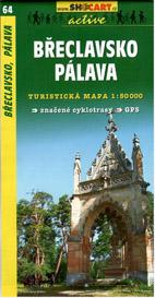 Břeclavsko - Pálava - mapa SHc64 - 1:50t