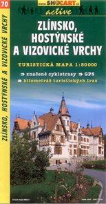 Zlínsko, Hostýnské a Vizovické vrchy - mapa SHOCart č.70 - 1:50 000