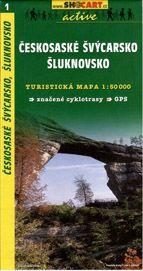 Českosaské Švýcarsko, Šluknovsko - mapa SHc1 - 1:50t