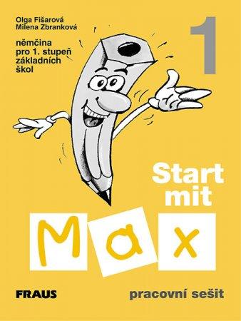 Start mit Max 1 - pracovní sešit - Fišarová O, Zbranková M - A4, brožovaná
