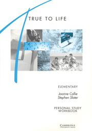 True to Life elementary Personal Study Workbook - Collie J.,Slater S. - A4, brožovaná, Sleva 75%