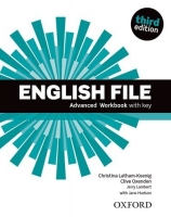 English File Third Edition Advanced Workbook with Answer Key and iChecker - Oxenden, Selingson, Sleva 75%