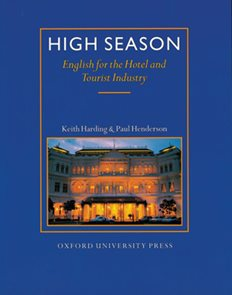 High Season - English for the Hotel - Students Book