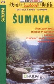 Šumava - mapa Shocart č.214 - 1:100t
