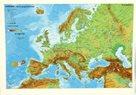Evropa fyzická/politická - mapa A3