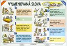 Vyjmenovaná slova/Slovní druhy - tabulka A4