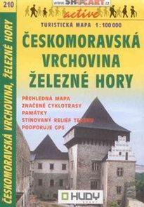 Českomoravská vrchovina, Železné hory - mapa Shocart č.210 - 1:100t
