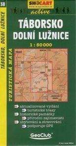 Táborsko, Dolní Lužnice - mapa SHc38 - 1:50t
