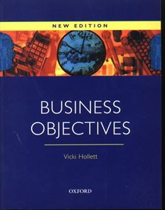 Business Objectives Student´s Book New edition