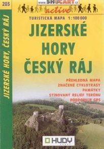 Jizerské hory, Český ráj - mapa Shocart č.203 - 1:100t