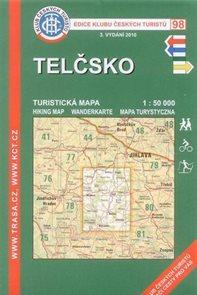 Telčsko - mapa KČT č.98 - 1:50t