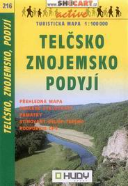 Telčsko, Znojemsko, Podyjí - mapa Shocart č.216 - 1:100t