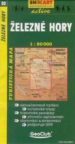 Železné hory - mapa SHc30 - 1:50t