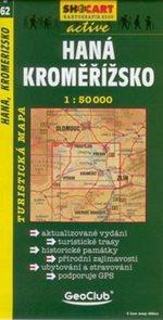 Haná, Kroměřížsko - mapa SHc62 - 1:50t
