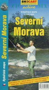 Severní Morava - rybářská mapa  1:200 000  2003