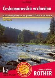 Českomoravská vrchovina - turistický průvodce Rother