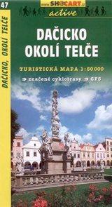 Dačicko, okolí Telče - mapa Shocart č.47 - 1:50 000