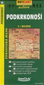 Podkrkonoší  - mapa SHc26 - 1:50t