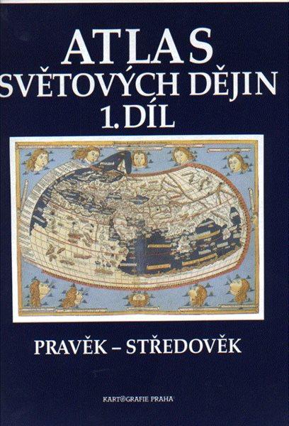 Atlas světových dějin 1.díl Pravěk-středověk - A4, brožovaná