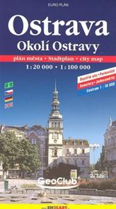 Ostrava a okolí 1:20 000  2002