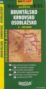 Bruntálsko, Krnovsko, Osoblažsko - mapa SHc59 - 1:50t