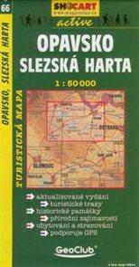 Opavsko, Slezská Harta - mapa SHc66 - 1:50t