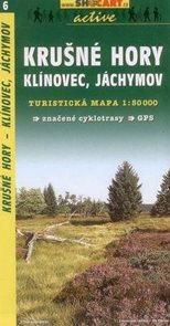 Krušné hory - Klínovec, Jáchymov - mapa Shocart č.6 - 1:50t