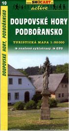 Doupovské hory,Podbořansko - mapa SHc10 - 1:50t
