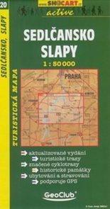 Sedlčansko, Slapy - mapa SHc20 -  1:50t