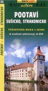 Pootaví - Sušicko, Strakonicko - mapa SHc33 - 1:50t