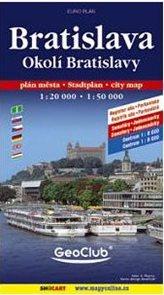Bratislava a okolí 1:50 000 1:20 000  - Evropa