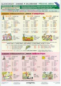 Vzory - Přídavná jména - tabulka A4