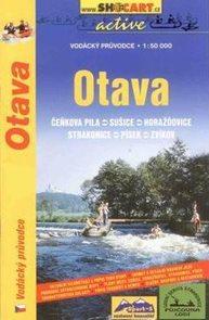 Otava - vodácký průvodce /Čeňkova Pila--Zvíkov/ - 1:50t