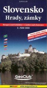 Slovensko - hrady a zámky  1:500 000