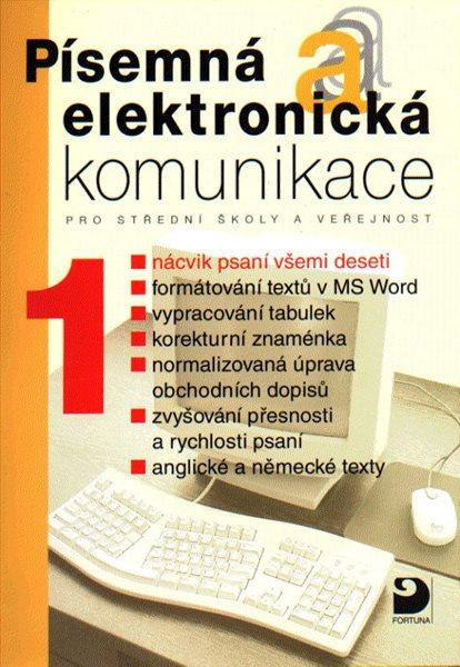 Písemná a elektronická komunikace 1 - Kroužek,Kuldová - spirálová, kroužková 215×295 mm